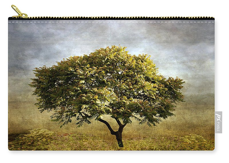 Tree Carry-all Pouch featuring the photograph Mimosa Magic by Jessica Jenney