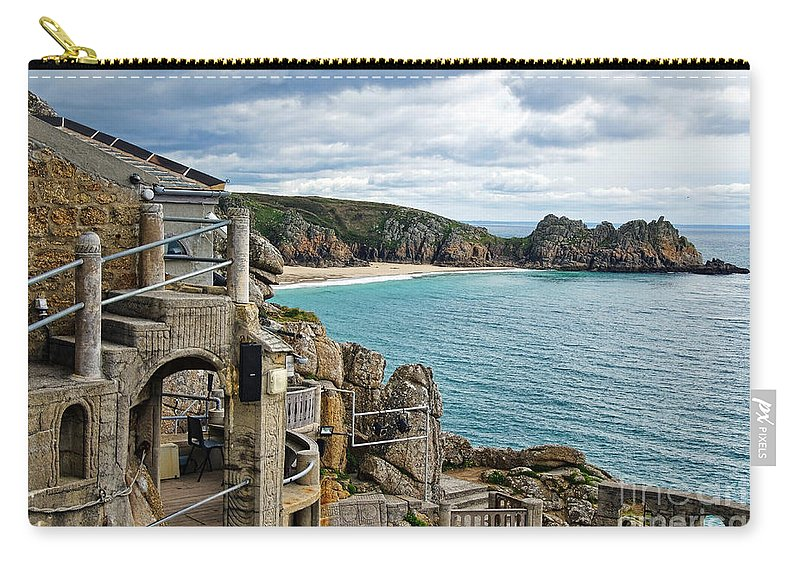 Minack Theatre Carry-all Pouch featuring the photograph Minack Theatre by Susie Peek