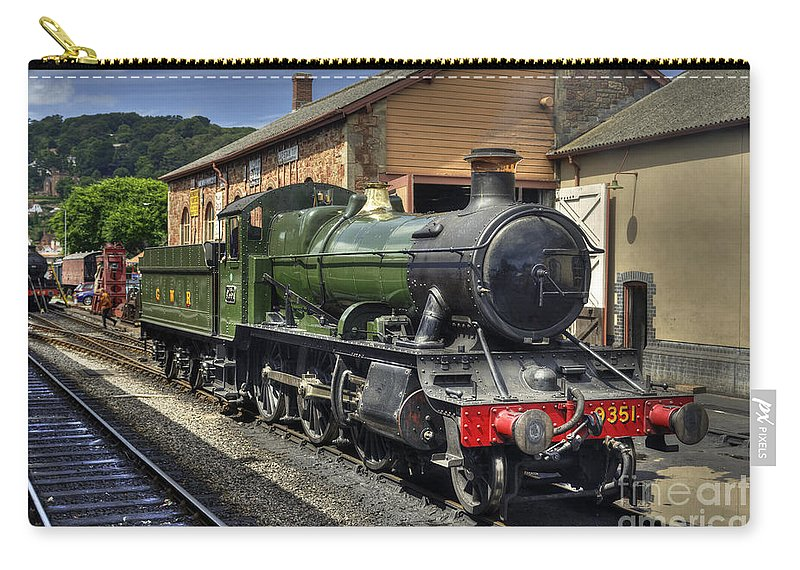 West Carry-all Pouch featuring the photograph Minehead Mogul by Rob Hawkins