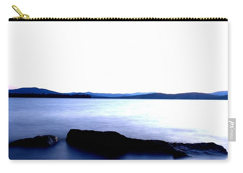 New Hampshire Carry-all Pouch featuring the photograph Minimal Flow by Neal Eslinger