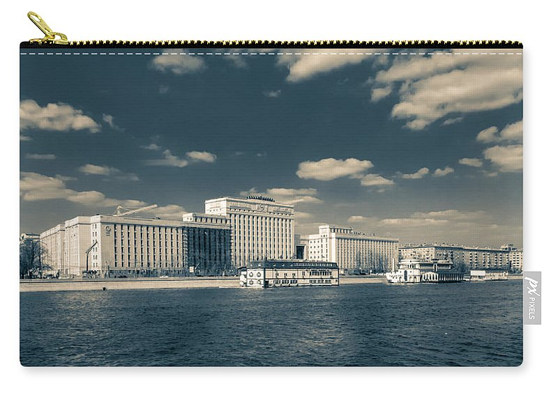 Ministry Of Defence Carry-all Pouch featuring the photograph Ministry Of Defence by Alexey Stiop