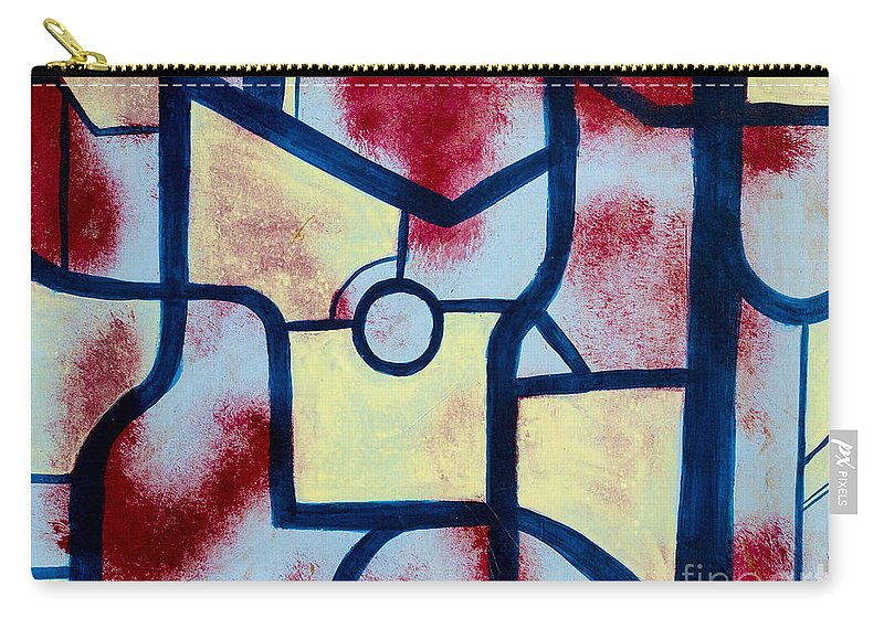 Carry-all Pouch featuring the painting Misconception by Stefanie Forck