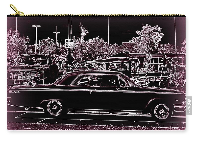 Classic On Canvas Carry-all Pouch featuring the digital art Misty by Bobbee Rickard