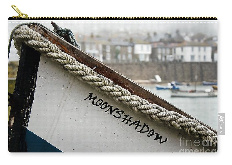 Boat Carry-all Pouch featuring the photograph Misty Moonshadow by Susie Peek