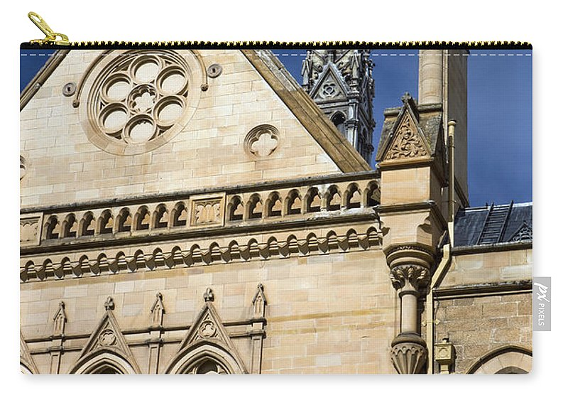 Travel Carry-all Pouch featuring the photograph Mitchell Building University Of Adelaide by Jason O Watson