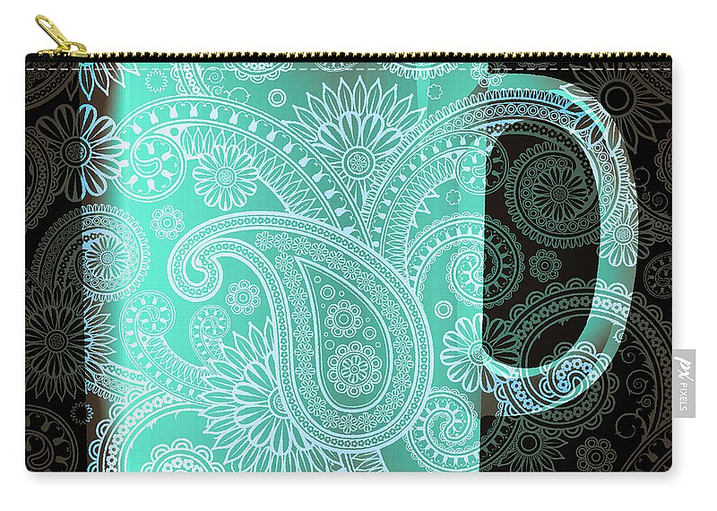 Mm Carry-all Pouch featuring the mixed media Mm Mm Good 3 by Angelina Vick