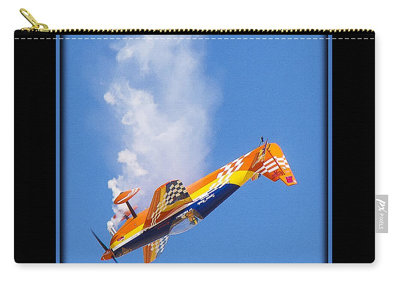 Plane Carry-all Pouch featuring the photograph Model Plane 10 by Larry White