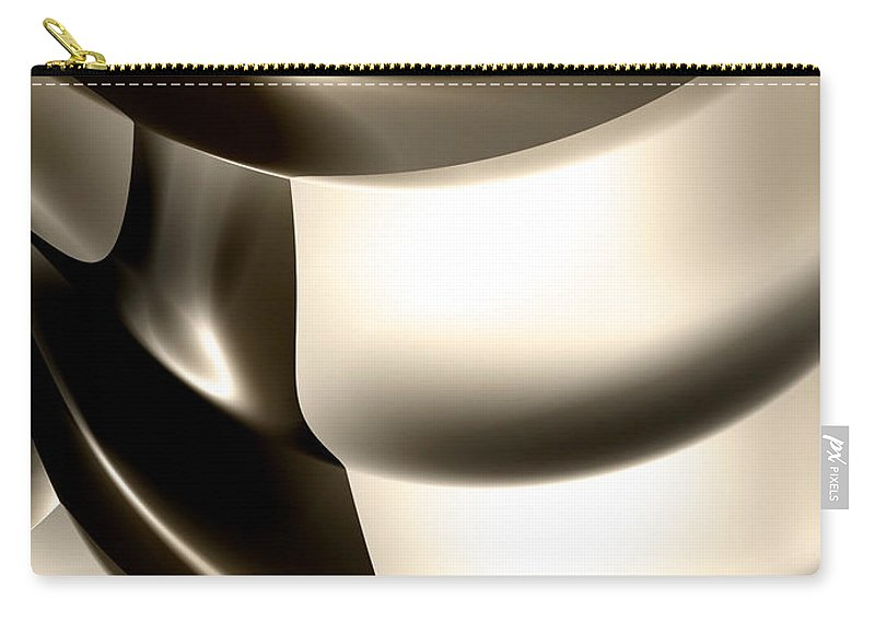 Fractals fractal Art abstract Art girl's Fashion women's Fashion Fashion Art Cosmetics fashion Design Fashion Carry-all Pouch featuring the photograph Modern Abstract 04 by Bill Owen