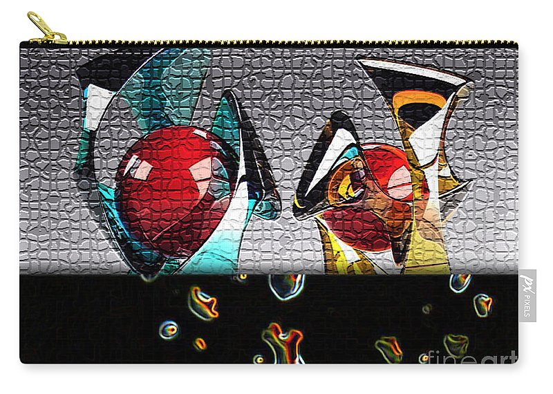 Modern Art Carry-all Pouch featuring the mixed media Modern Art by Marvin Blaine