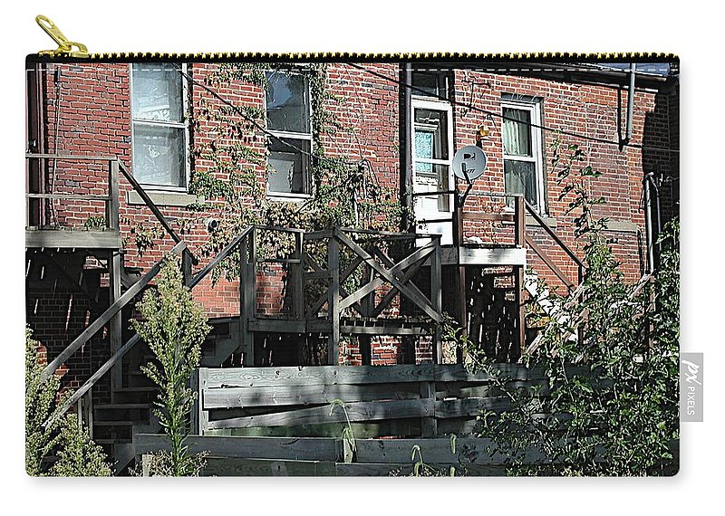 Back Entrances Carry-all Pouch featuring the photograph Modern Life by Joseph Yarbrough