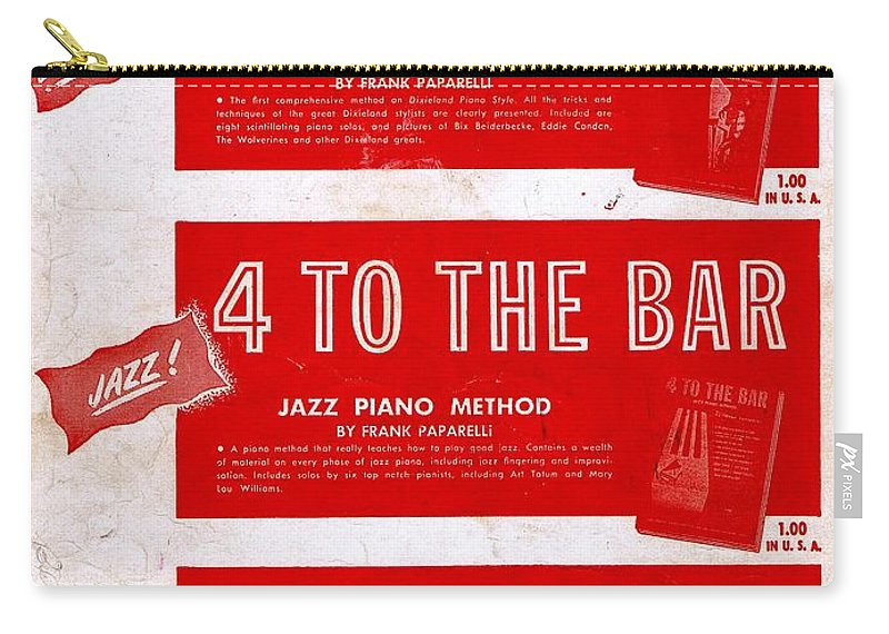 Nostalgia Carry-all Pouch featuring the photograph Modern Piano Playing by Mel Thompson