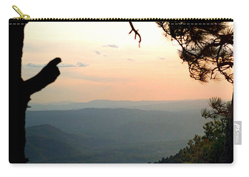 Landscape Carry-all Pouch featuring the photograph Mogollon Rim 27323 by Jerry Sodorff