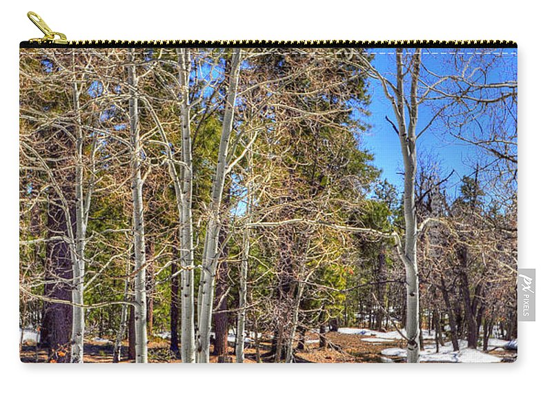 Nature Carry-all Pouch featuring the photograph Mogollon Spring 1 by Jerry Sodorff