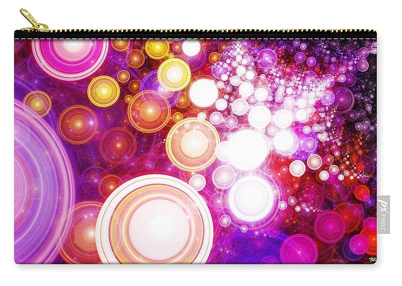 Moksha Carry-all Pouch featuring the digital art Moksha Redux by Brian Kenney