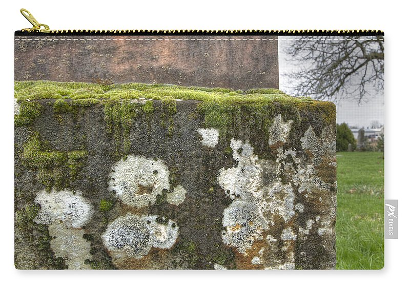 Graf Carry-all Pouch featuring the photograph Moldy Above And Below by Jean Noren