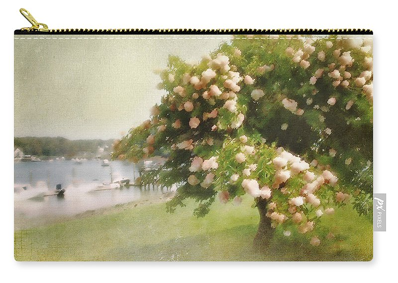 Landscape Carry-all Pouch featuring the photograph Monet's Tree by Karen Lynch