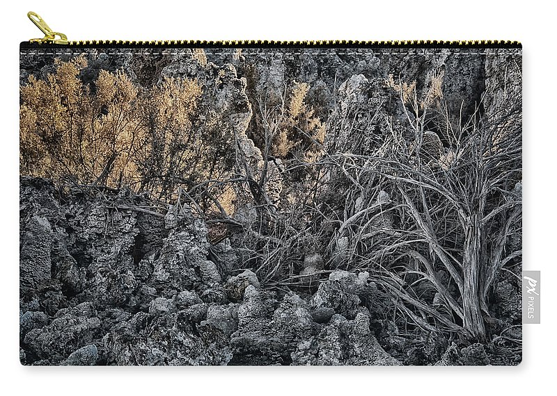 Mono Lake Carry-all Pouch featuring the photograph Mono Lake by Erika Fawcett