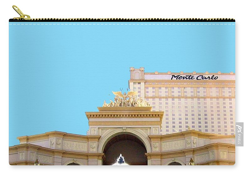Monte Carlo Carry-all Pouch featuring the photograph Monte Carlo by Will Borden