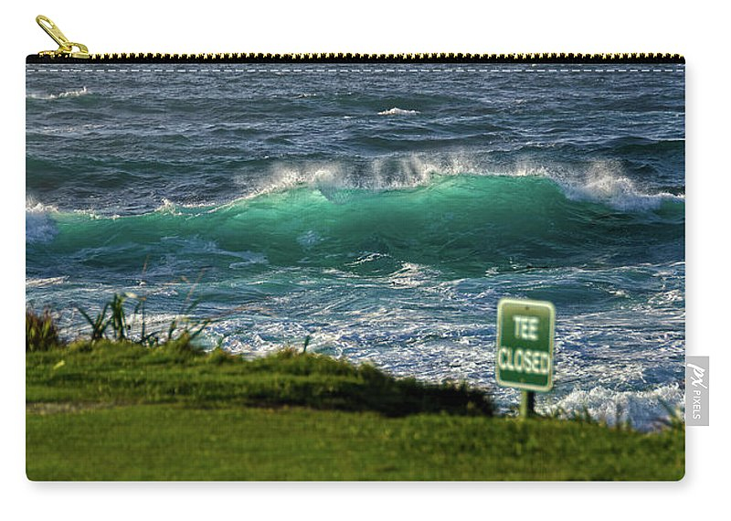 Monterey California Carry-all Pouch featuring the photograph Monterey 17 Mile Drive by Ron White