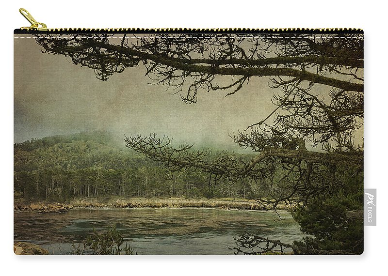 Monterey Carry-all Pouch featuring the photograph Monterey Bay - The Other Side by Angela Stanton