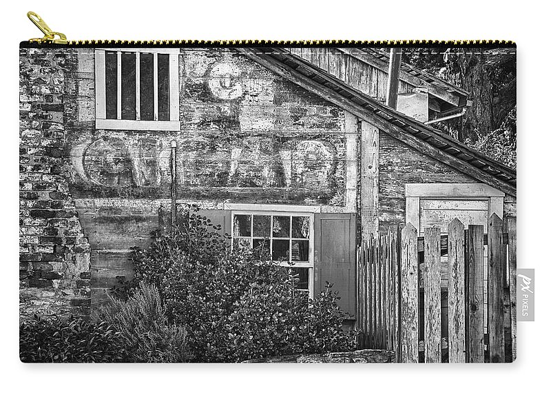 Monterey California Carry-all Pouch featuring the photograph Monterey Historic Building 1 by Ron White
