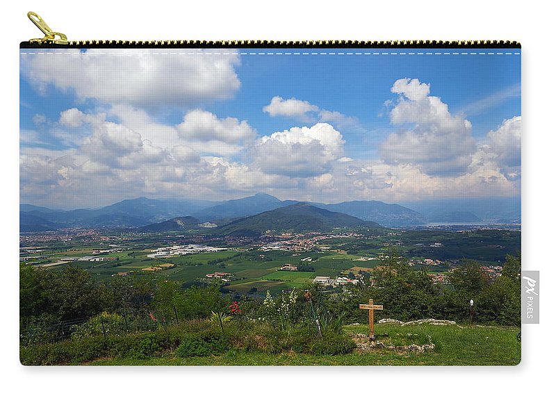 Francacorta Carry-all Pouch featuring the photograph Montorfano. Cologne by Jouko Lehto
