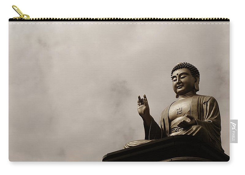 Tranquility Carry-all Pouch featuring the photograph Monument by Welcome To Buy My Photos