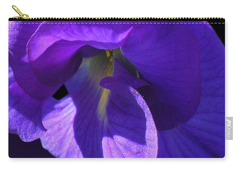 Moody Blues Carry-all Pouch featuring the photograph Moody Blues by James Temple