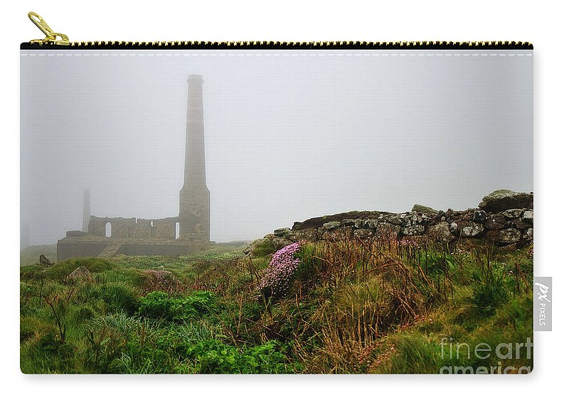 Levant Carry-all Pouch featuring the photograph Moody Cornwall by Susie Peek