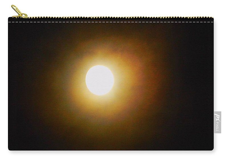Moon Carry-all Pouch featuring the photograph Moon Glow by Owl's View Studio