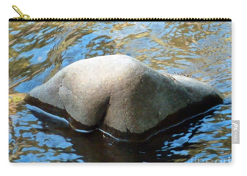 Abstract Carry-all Pouch featuring the photograph Moon River by Lauren Leigh Hunter Fine Art Photography