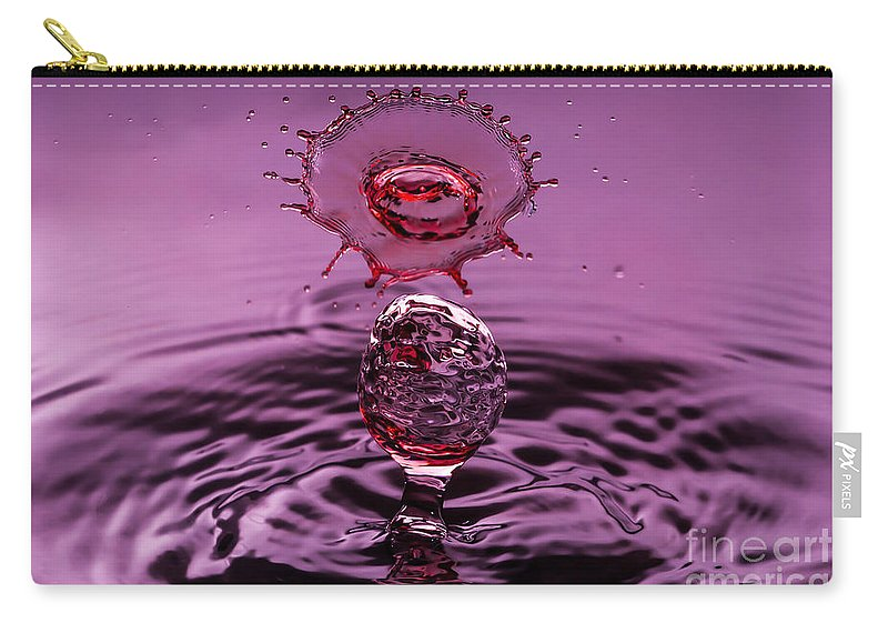 Water Carry-all Pouch featuring the photograph Moonchild by Anthony Sacco