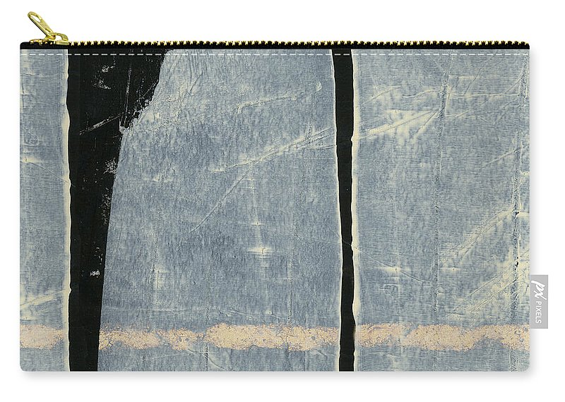 Painting Carry-all Pouch featuring the photograph Moonlit Sentinels by Carol Leigh