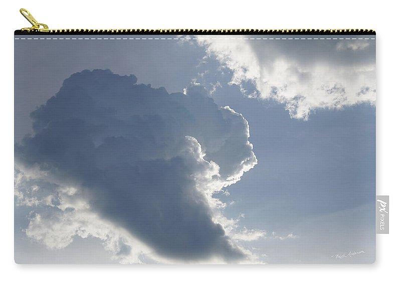 Cumulus Carry-all Pouch featuring the photograph Morning Cumulus by Mick Anderson
