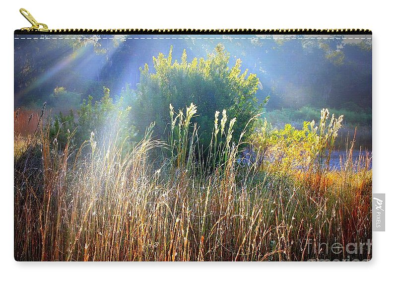 Sunrise Carry-all Pouch featuring the photograph Morning Glory by Carol Groenen