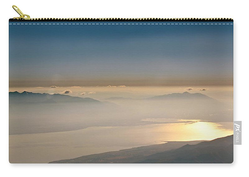 Color Carry-all Pouch featuring the photograph Morning Glow by Kume Bryant