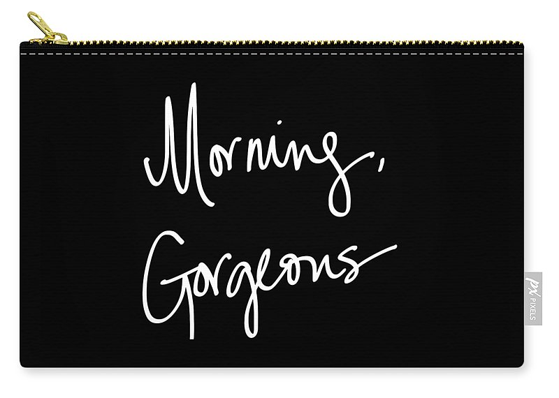 Morning Carry-all Pouch featuring the digital art Morning Gorgeous by South Social Studio