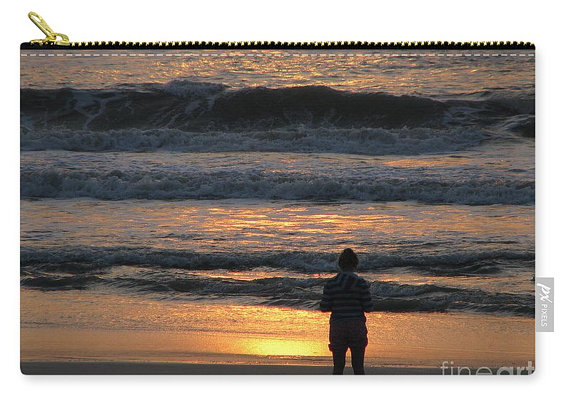 Patzer Carry-all Pouch featuring the photograph Morning Has Broken by Greg Patzer