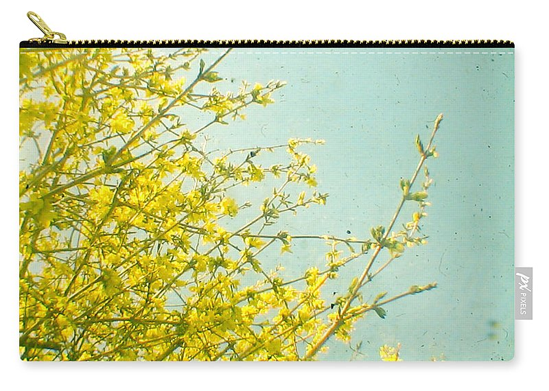 Flowers Carry-all Pouch featuring the photograph Morning Light by Cassia Beck