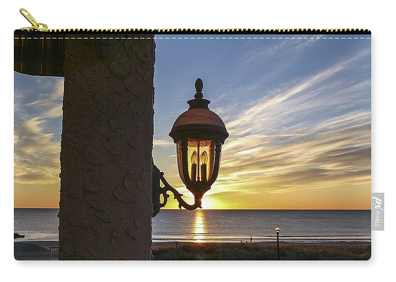 Ocean Grove Nj Carry-all Pouch featuring the photograph Morning Light by Eric Swan