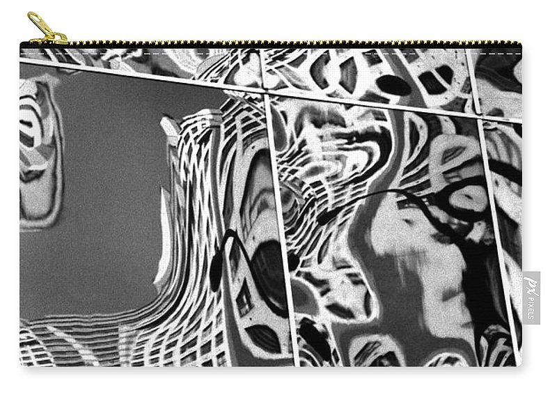 Graphic Carry-all Pouch featuring the photograph Mosaic by Steven Huszar