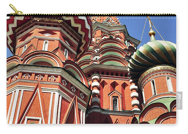 Architecture Carry-all Pouch featuring the photograph Moscow13 by Svetlana Sewell