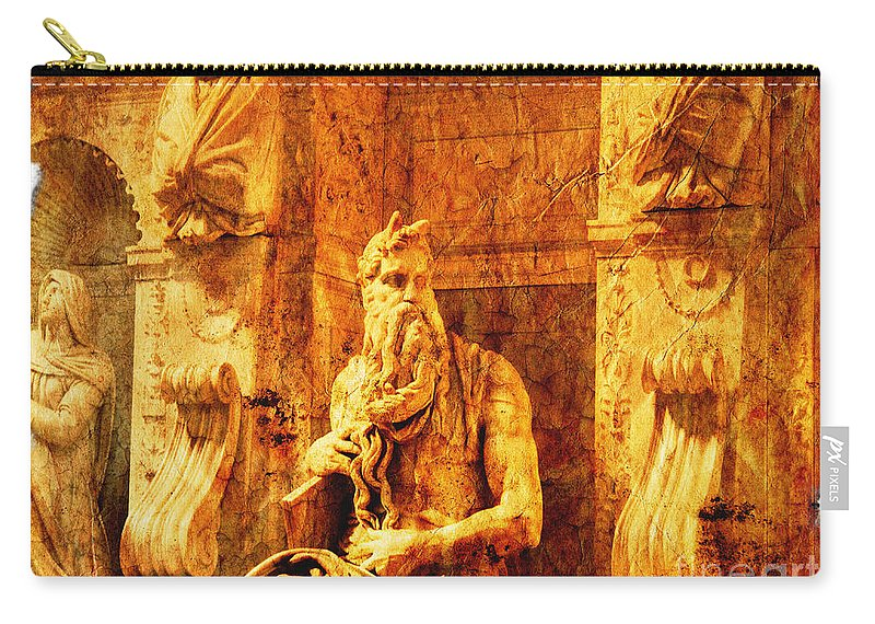 Eudoxiana Carry-all Pouch featuring the photograph Moses by Stefano Senise