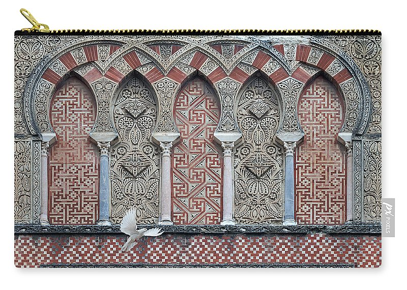 Mosque Cathedral Of Cordoba Carry-all Pouch featuring the photograph Mosque Cathedral Of Cordoba Also Called The Mezquita by Ayhan Altun