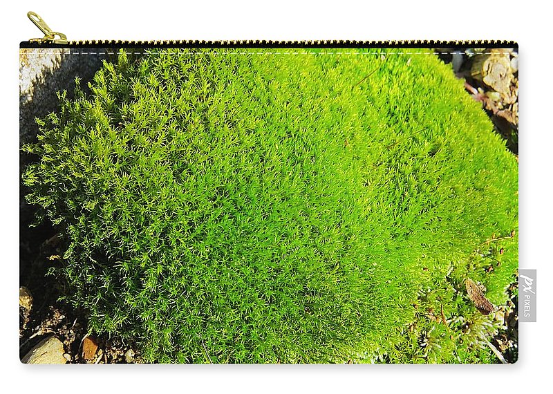 Moss Carry-all Pouch featuring the photograph Moss by MTBobbins Photography