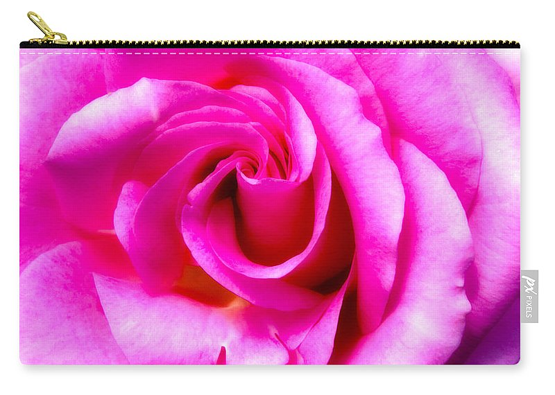 Mother's Day Carry-all Pouch featuring the photograph Mother's Day Rose Blank by Mark Andrew Thomas