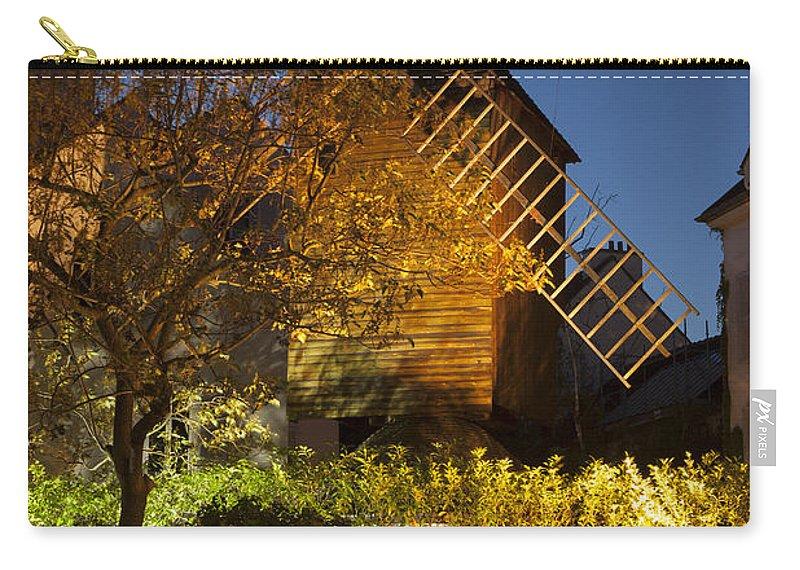 Butte Carry-all Pouch featuring the photograph Moulin De La Galette by Brian Jannsen