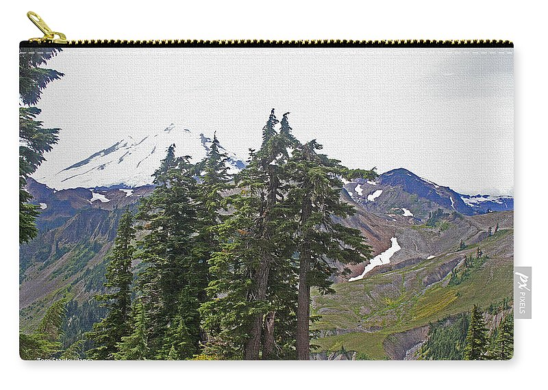 Mount Baker Area Carry-all Pouch featuring the photograph Mount Baker Area Wilderness by Tom Janca