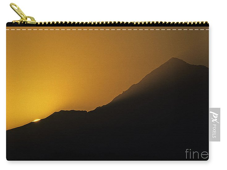 Nature Carry-all Pouch featuring the photograph Mount Hood Sunrise by Jim Corwin