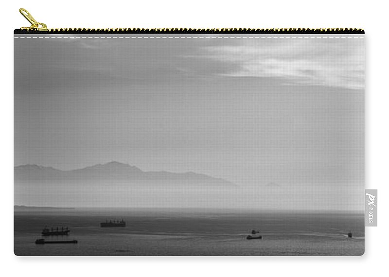 Abstract Carry-all Pouch featuring the photograph Mount Olympus Greece by Sotiris Filippou